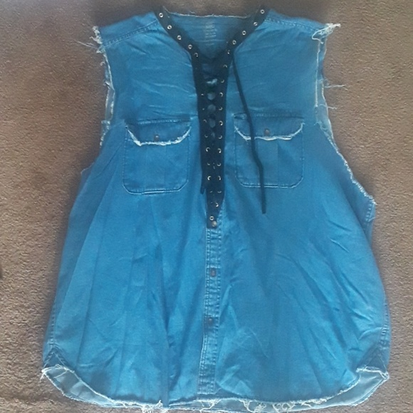 Dresses & Skirts - Custom denim dress